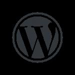 WordPress logotype wmark
